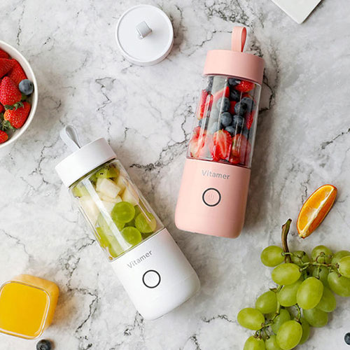 Vitamer Automatic Fruit Juicer Bottle Whte