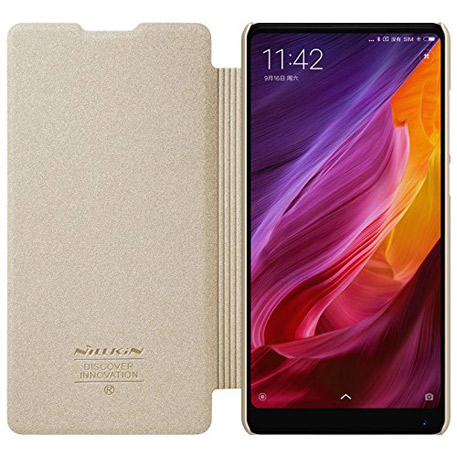 Nillkin Sparkle Leather Case for XIAOMI Mi MIX 2 Gold