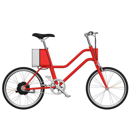 YunBike C1 Women`s Elegant Red