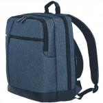 90 GO FUN Classic Business Backpack Dark Blue