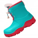 Honeywell Waterproof Non-slip Kids Boots Green/Red Size 25