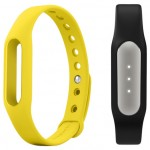 Xiaomi Mi Band Black + Mi Band Strap Yellow