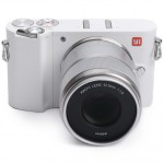 Yi M1 Mirrorless Digital Camera Zoom Lens Chinese Version White