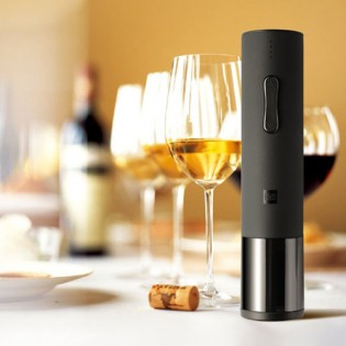 Huo Hou Electric Wine Bottle Opener Black