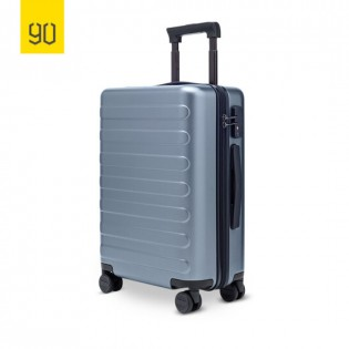 "RunMi 90 Fun Seven Bar Business Suitcase 20"" Blue"