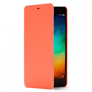Xiaomi Redmi Note 3 Leather Flip Case Orange