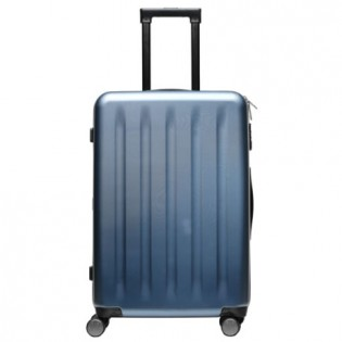 "Mi Trolley 90 Points Suitcase 24"" Blue Aurora"
