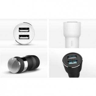 Xiaomi RoidMi 5 in 1 Music Bluetooth Car Charger 2S Smart Drive BFQ02RM White