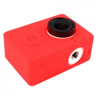 Yi Action Camera Silicone Protective Case Red