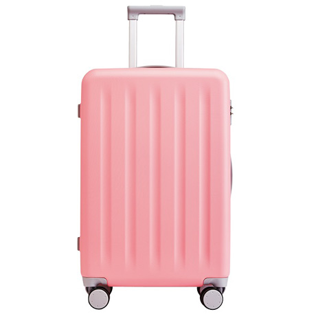 "RunMi 90 Points Trolley Suitcase 24"" Macaron Powder"