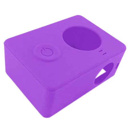 Xiaomi Yi Action Camera Silicone Protective Case Purple