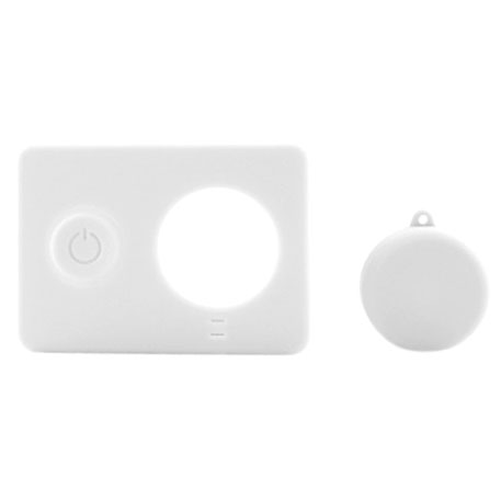 Xiaomi Yi Action Camera Silicone Protective Case White