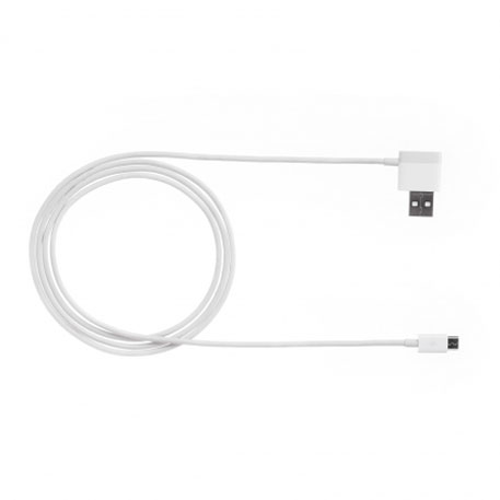 Xiaomi ZMI Micro USB Cable With Extra USB Port 120cm White